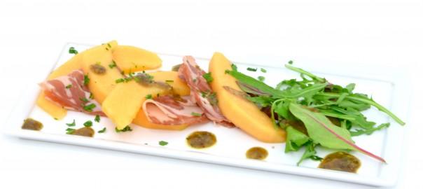 melon jambon
